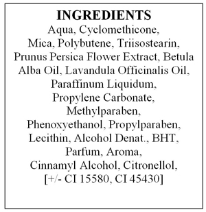 Inci list cosmetics